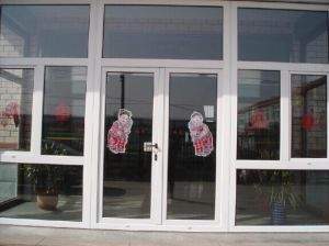 Aluminium Double Opening Casement Door in Wide Vision pictures & photos