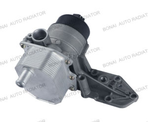 Oil Cooler with Oil Filter and Thermostat Seat for Ford/Volvo1704068 pictures & photos