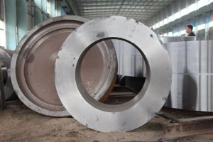 Precision Large Diameter Forged Rolling Ring, Gear Ring pictures & photos