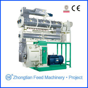 Eco-Friendly Shrimp Feed Pellet Mill Machine with Three Jacket Conditioner pictures & photos
