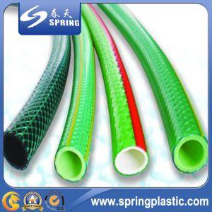 PVC Plastic UV- Resistant Flexible Reinforced Hose pictures & photos