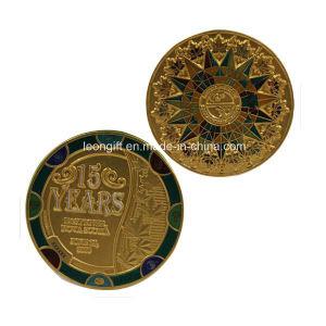 Custom Challenge Coin No Minimum/Metal Souvenir Coin pictures & photos