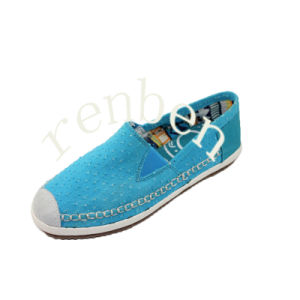 New Sale Design Men′s Canvas Casual Shoes pictures & photos