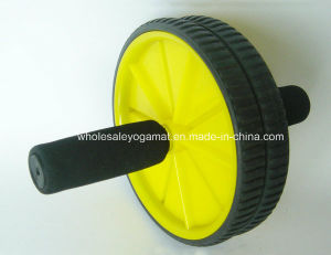 Double Ab Roller Wheel for Abdomen Fitness Exercise