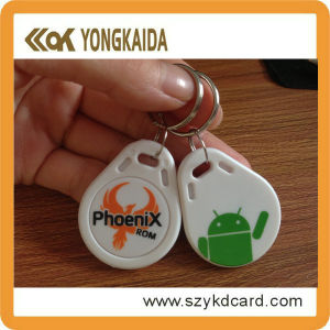 125kHz ABS Em4100 RFID Key FOB