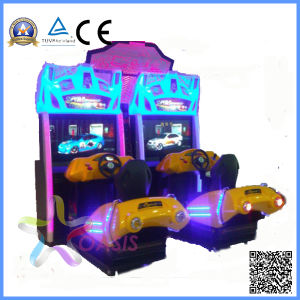 Hot 3D Motion Street Racing Car Arcade Game Machine pictures & photos