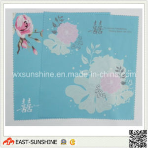 Custom Logo Microfiber Glasses Cloth (DH-MC0352) pictures & photos