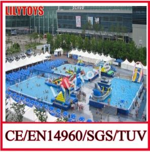 Top Pool, Inflatable Pool Park, Mobile Pool Game pictures & photos