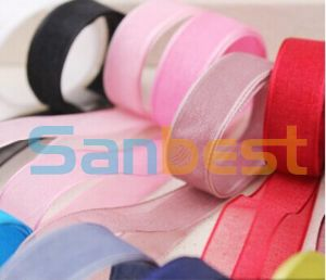 100% Nylon Single Face Satin Ribbon for Packing 30mm pictures & photos