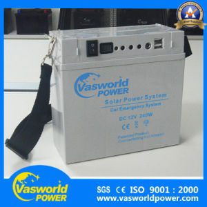 Yeman Market for UPS Battery Power Bank 12V18ah Solar Battery with Solar Panel pictures & photos