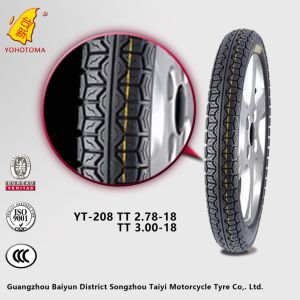 China Motorcycle Parts Market Supply Top Quality Motorcycle Tyre 275-18 YT-208 TT pictures & photos