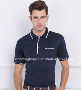 100%Cotton Pique Mens Tee Shirt, Men′s Polo Shirt pictures & photos