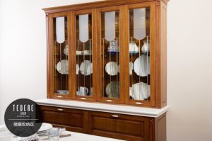 Solid Wood Kitchen Furniture (zq-021) pictures & photos