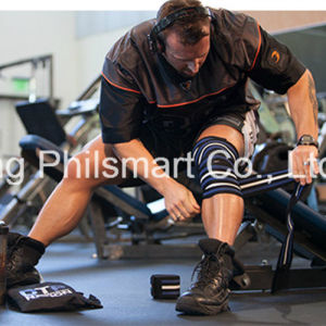 Gym Fitness Exercise Weight Lifting Knee Straps pictures & photos