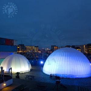 15m Dia. Big Size Inflatable Exhibition Tent