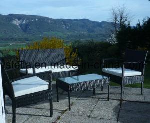 All Weather Steel Kd Outdoor Garden Sofa Set pictures & photos