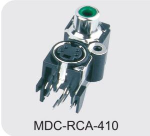 Mini DIN Connector (MDC-RCA-410) pictures & photos