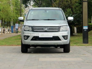 4X2 Petrol /Gasoline Double Cabin Pick up Car (Extended Cargo Box, Luxury) pictures & photos