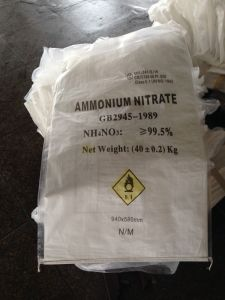 Ammonium Nitrate 99.5% for Fertilizer Grade
