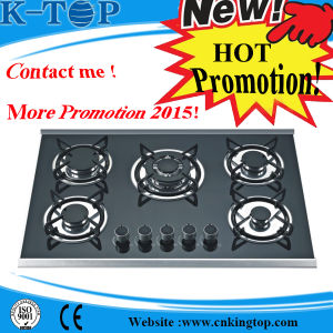 Cast Iron Burner Built-in Glass Gas Stove Promotion Price