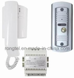ABS Plastic Audio Handset+Metal Doorbell for Villa Intercom System pictures & photos
