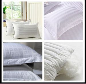 China Luxury Hotel Bedding Pillow Pillow Case pictures & photos