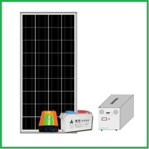 Stand Alone Solar Power System 160W with AC Output pictures & photos