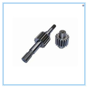 China Custom Auto Lathe Gear Shaft pictures & photos