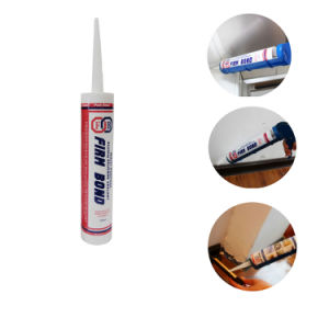 300ml General Purpose Acetic RTV Silicone Sealant For Glass Window pictures & photos