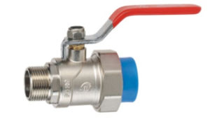 New PPR Water Supply Fittings Series Copper Male Ball Valve pictures & photos