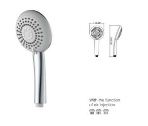 (TK5816) White Color ABS Plated Shower Head