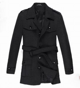 2015 Man′s Wool Jacket Warm Design Overcoat pictures & photos