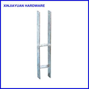 Wholesale Top Quality White Zinc Metal Pole Anchor pictures & photos