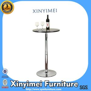 High Quality Home Furniture Metal Table Round Outdoor Coffee Bar Dining Room Table (XYM-T88) pictures & photos