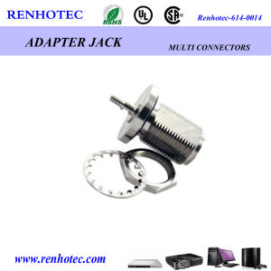 N Jack Bulkhead Socket Crimp Cable: Rg174/Rg316 pictures & photos