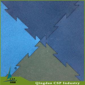 Puzzle Crossfit Gym Floor Interlock Rubber Mat pictures & photos