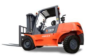 7.0 Ton Diesel Forklift with Isuzu 6BG1 Engine pictures & photos