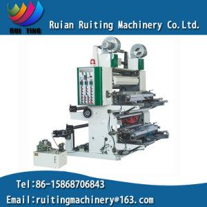 Yt-21000 2 Color Foil Non Woven Bag Flexographic Printing Machine pictures & photos