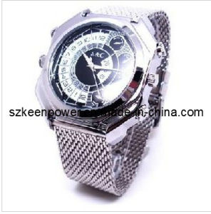 Waterproof Mini Camera Watch 1080p Video Recorder Sound Control Night Vision 4GB-16GB pictures & photos