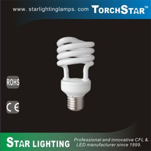 High Efficiency Tri-Phosphor PBT Half Spiral Energy Saving CFL