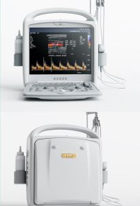 15inch LCD Ob/ Gyn/ Vascular Portable Ultrasound Color Doppler System pictures & photos