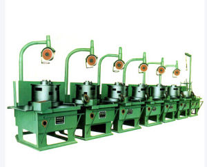 Inverted Vertical Wire Drawing Machine 36mm pictures & photos