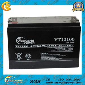12V100ah Deep Cycle High quality Maintenance Solar Gel Lead Acid Battery pictures & photos