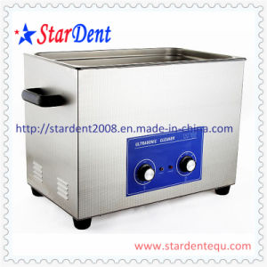 30L Stainless Steel Digital Tabletop Ultrasonic Cleaner of Dental Equipment pictures & photos