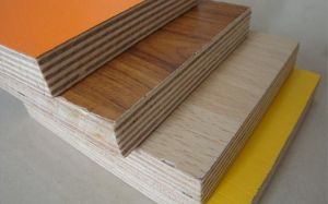 4X8 Melamine Paper Laminated Plywood pictures & photos