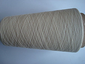 Organic Cotton OE Yarn -Ne30s/1 Raw White pictures & photos
