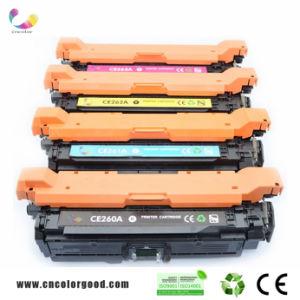 Original Genuine 647A Ce260A/261A/262A/263A Color Toner Cartridge for HP Laserjet Printer pictures & photos
