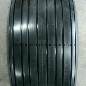 18X 8.50-10 8.50-8 Ribbed Flat Free Trailer Tire pictures & photos