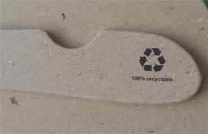 Heavy Load Bearing 3.5mm Paper Recycled Fsc Cardboard Clothes Hangers pictures & photos
