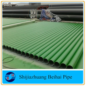 ANSI B36.10 Carbon Steel A106 Grb Seamless 3PE Coating Pipe pictures & photos